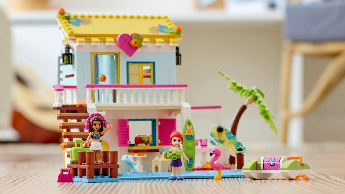 LEGO Friends 41428 Beach House Lifestyle Featured