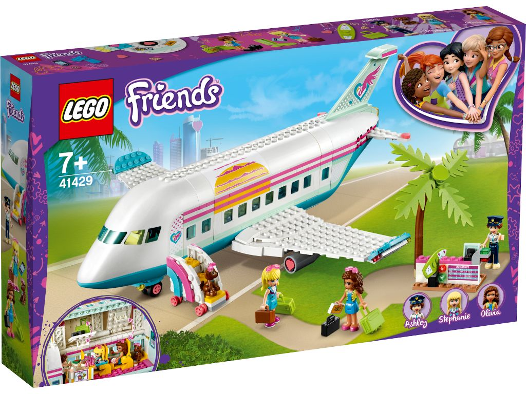 LEGO Friends 41429 Heartlake City Airplane 1