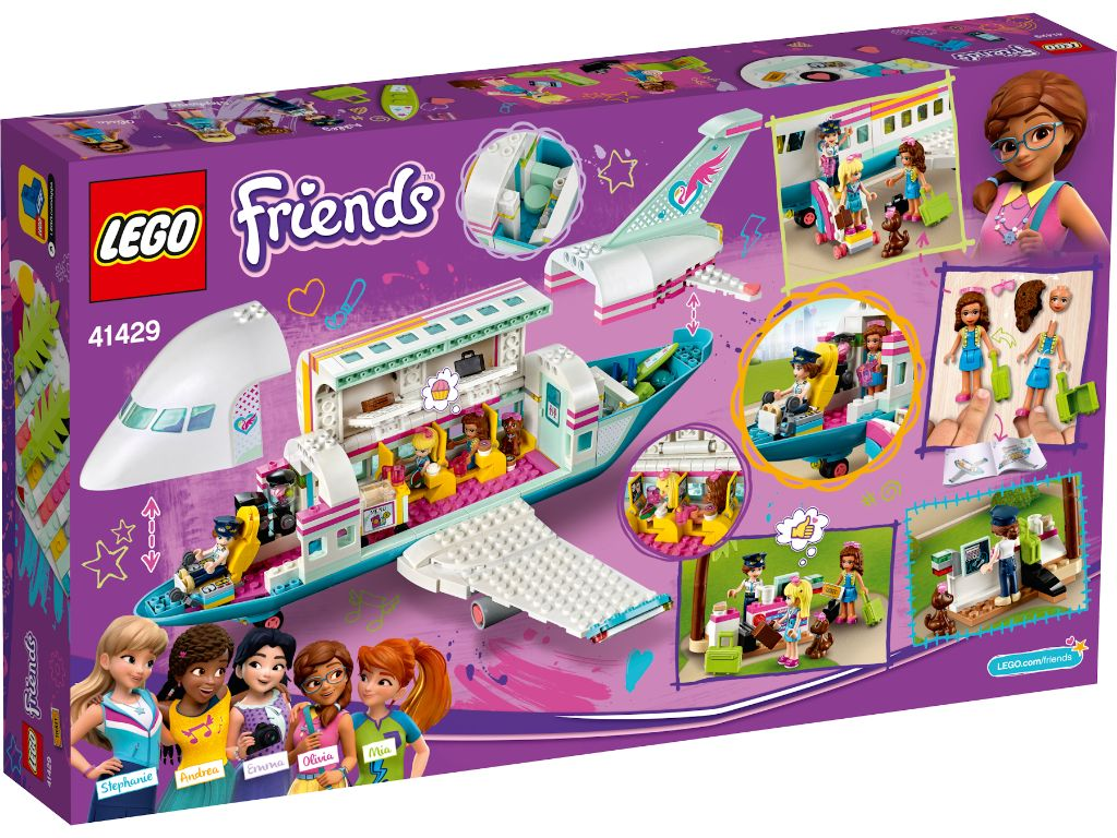 LEGO Friends 41429 Heartlake City Airplane 2