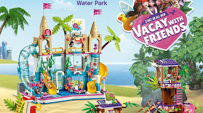 LEGO Friends 41430 Summer Fun Water Park 41424 Jungle Rescue Base Featured