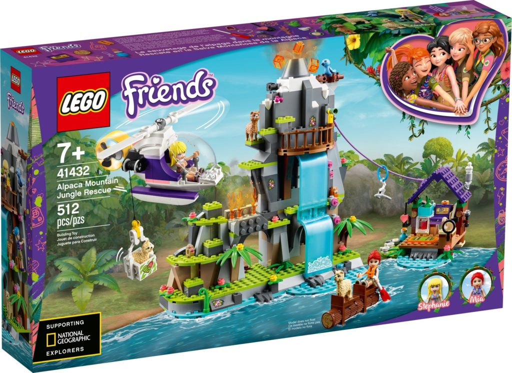 LEGO Friends 41432 Alpaca Mountain Jungle Rescue 1