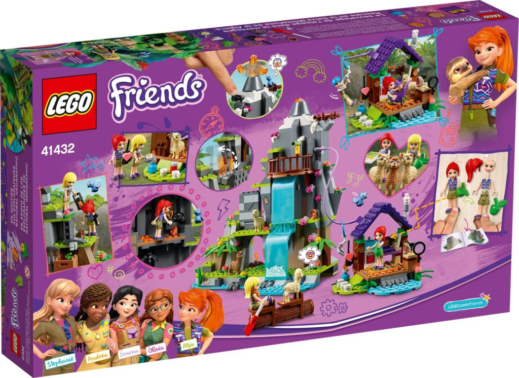 LEGO Friends 41432 Alpaca Mountain Jungle Rescue 10