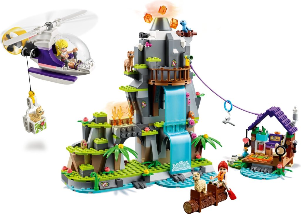 LEGO Friends 41432 Alpaca Mountain Jungle Rescue 4