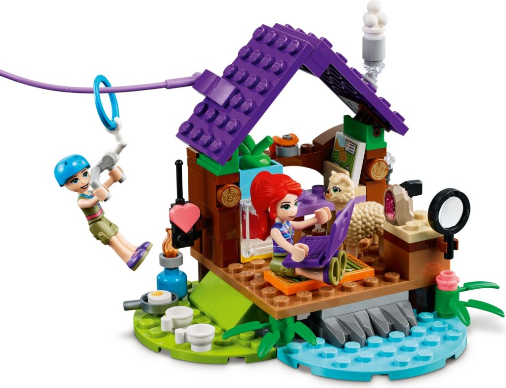LEGO Friends 41432 Alpaca Mountain Jungle Rescue 6