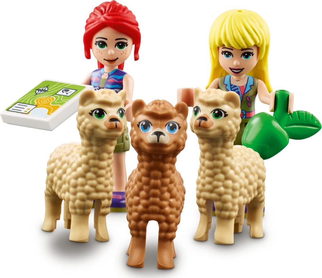 LEGO Friends 41432 Alpaca Mountain Jungle Rescue 9