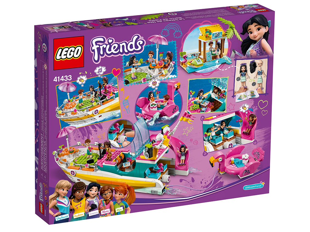 LEGO Friends 41433 Party Boat 3