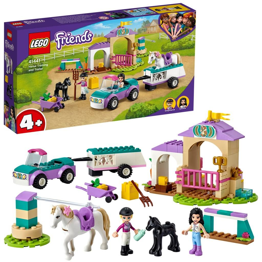LEGO Friends 41441 Horse Training And Trailer 1024x1024