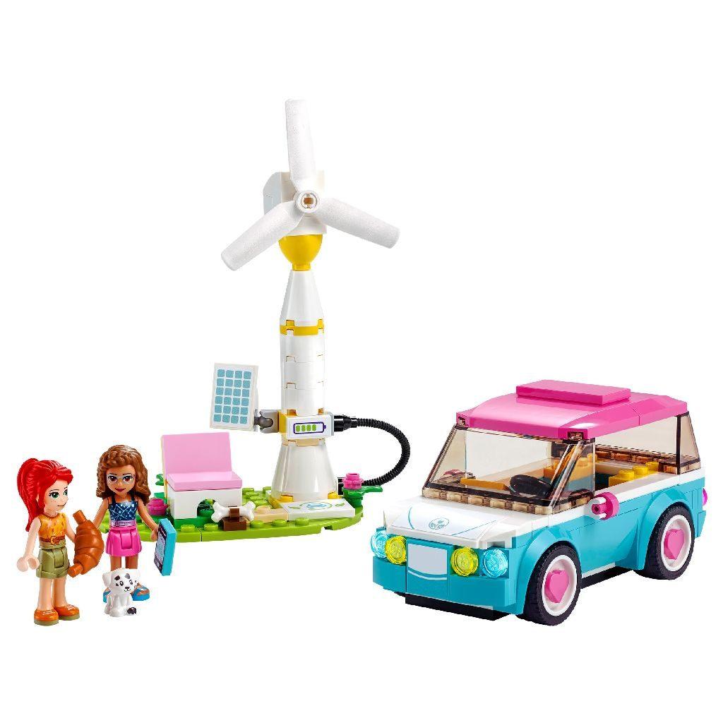 LEGO Friends 41443 Olivias Electric Car 1 1024x1024