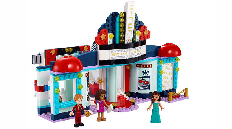 LEGO Friends 41448 Heartlake City Movie Theater Featured 800x445
