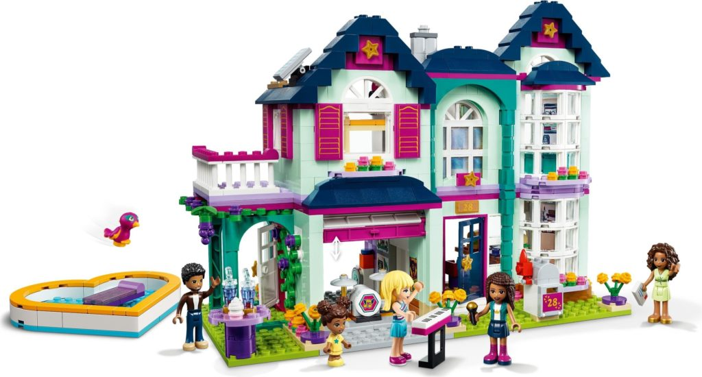 LEGO Friends 41449 Andreas Family House 2 1