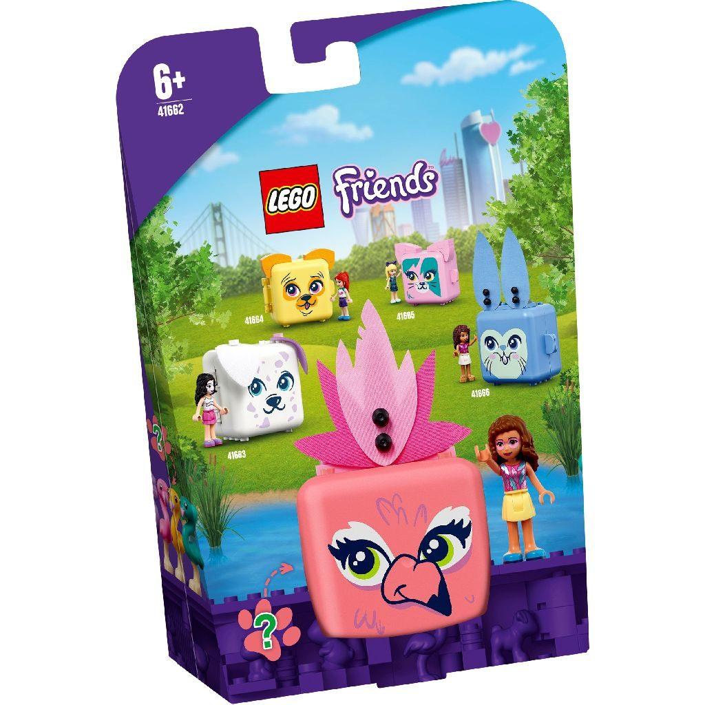 LEGO Friends 41663 Olivias Flamingo Cube 1 1024x1024
