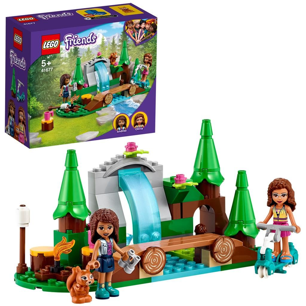 LEGO Friends 41677 Forest Waterfall 1024x1024