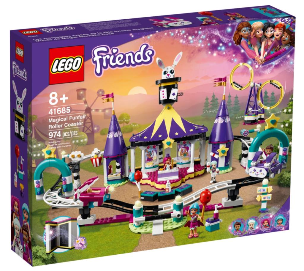 LEGO Friends 41685 Magical funfair rollercoaster box