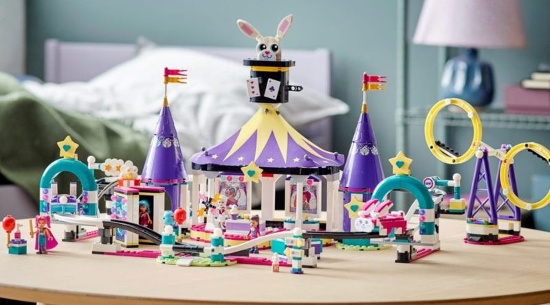 LEGO Friends 41685 Magical funfair rollercoaster lifestyle featured