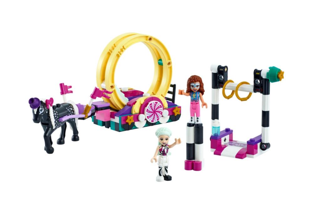 LEGO Friends 41686 Magical Acrobatics contents