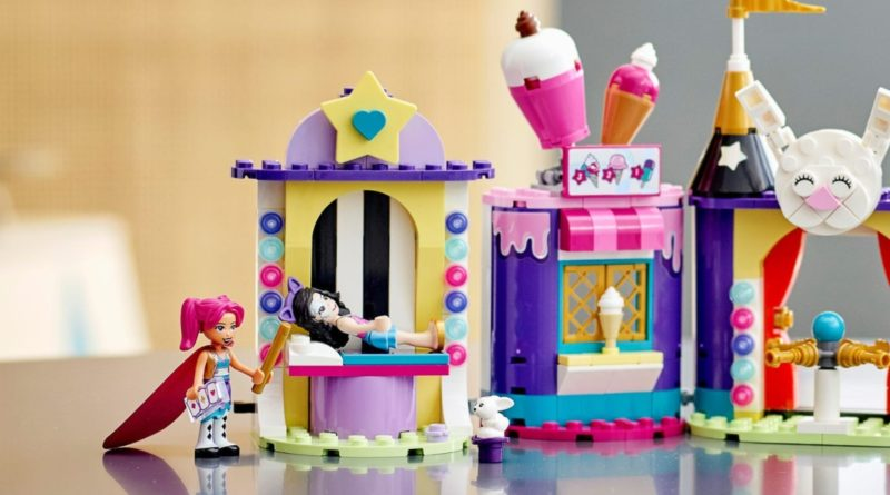 LEGO Friends 41687 Magical Funfair Stalls lifestyle featured