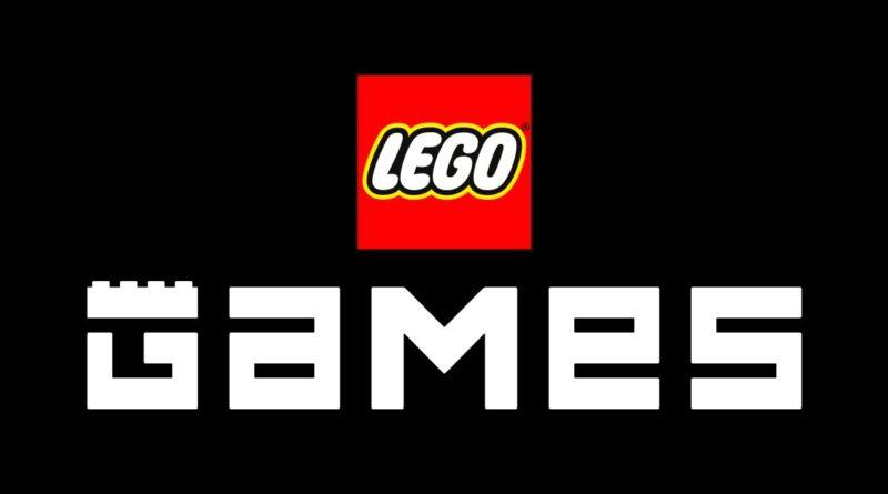 Nuovo logo LEGO Games in primo piano