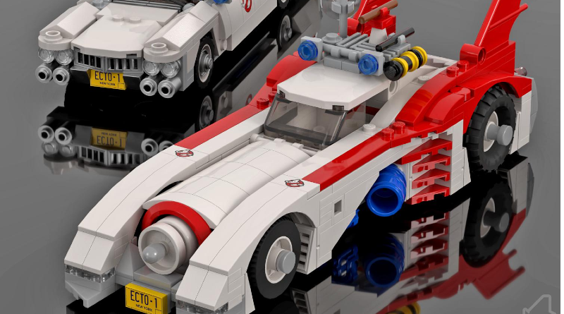 LEGO Ghostbusters Batmobile Featured