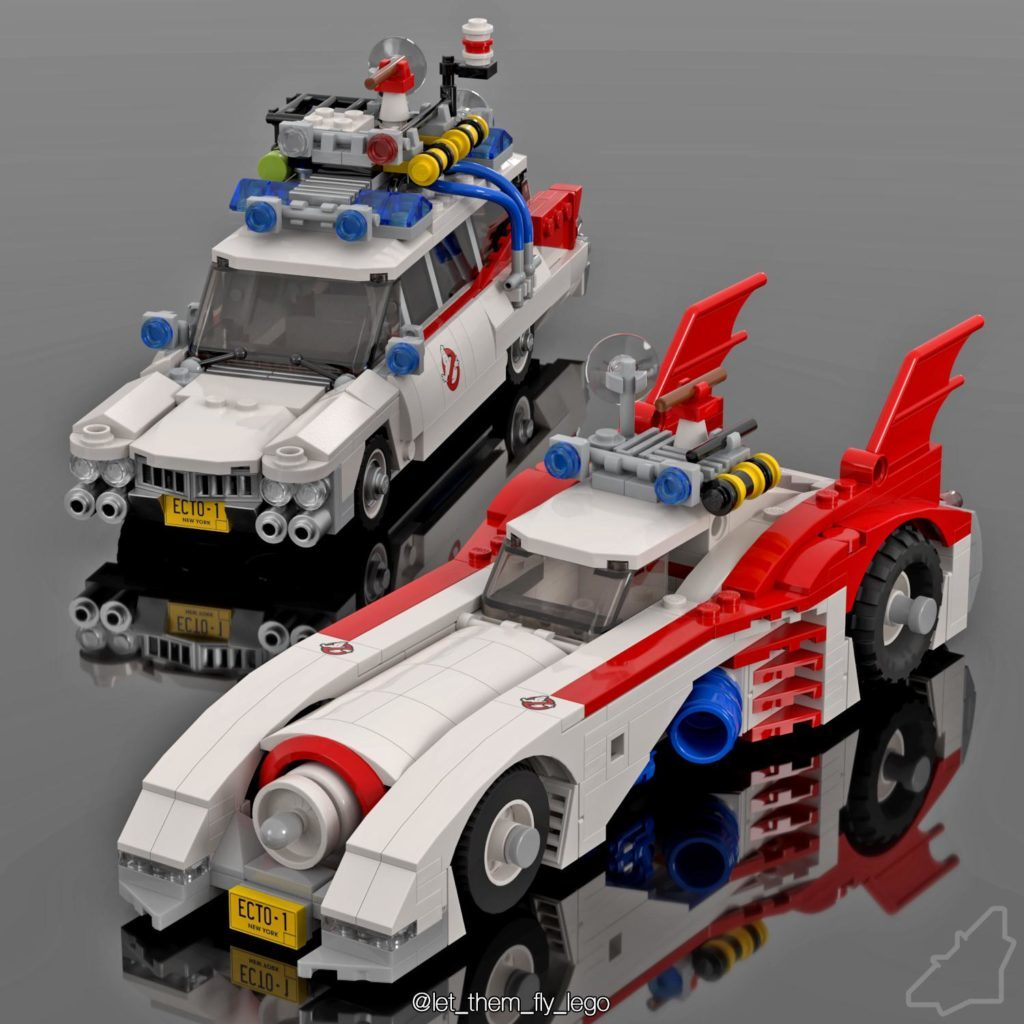 LEGO Ghostbusters Batmobile Png 1024x1024