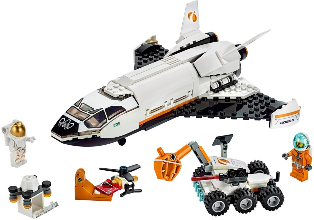 LEGO Gift Guide Research Shuttle 60226