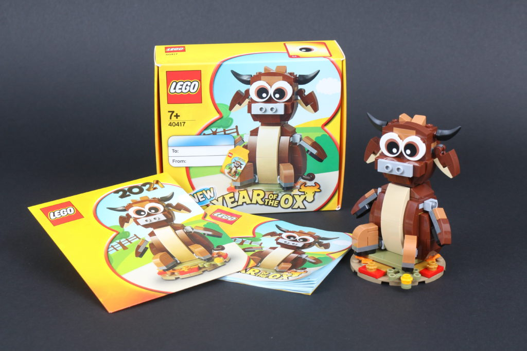 LEGO Gift With Purchase 40417 Year Of The Ox Review 8