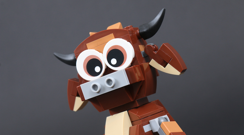 LEGO Gift With Purchase 40417 Year Of The Ox Review Title