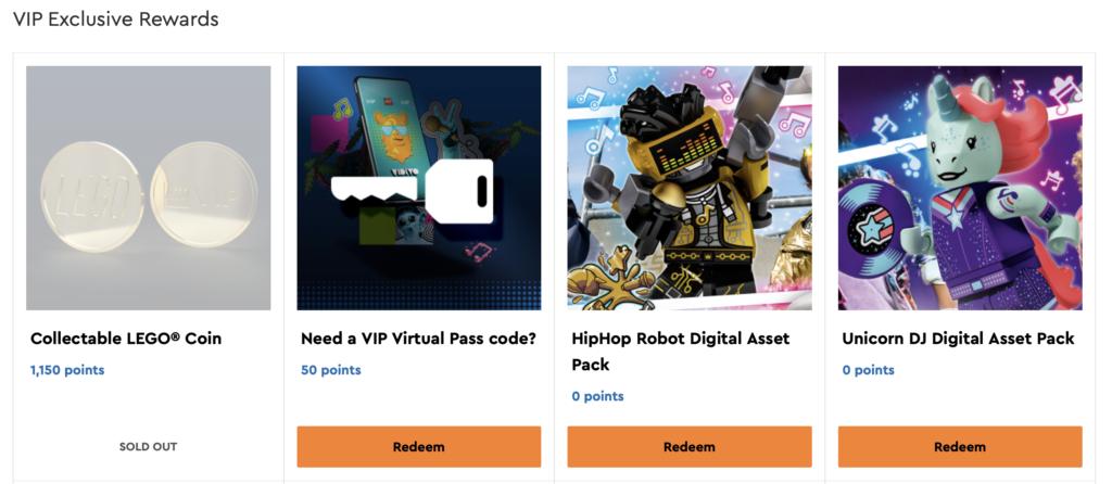 LEGO Gold Coin VIP Rewards Centre Screenshot 5 1