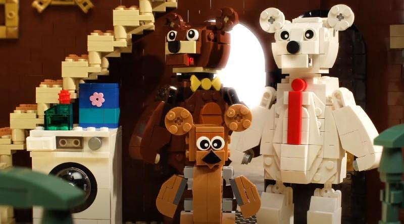 LEGO Goldilocks And The Three Bears Rebuild The World Featured