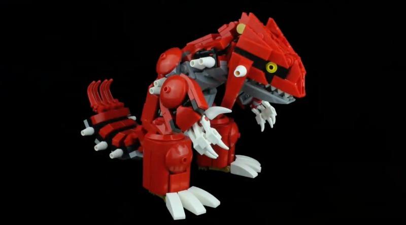 LEGO Groudon