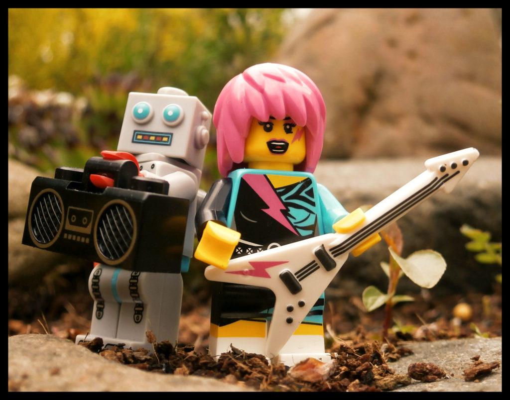 LEGO Guitar Robot