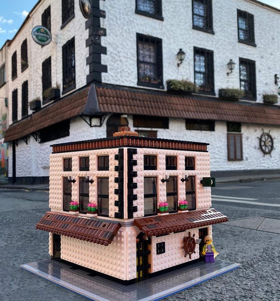 LEGO Hacienda bar dublin