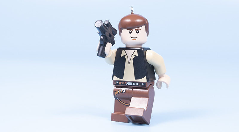 LEGO Star Wars Han Solo Minifigure Ornament review