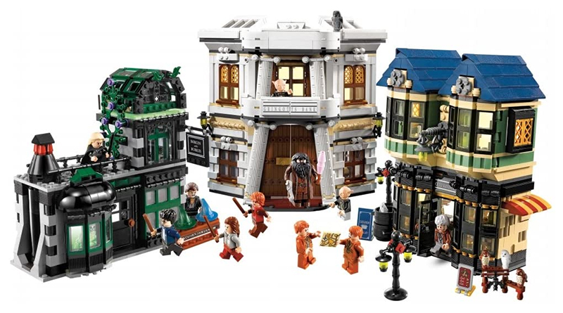 LEGO Harry Potter 10217 Diagon Alley Featured