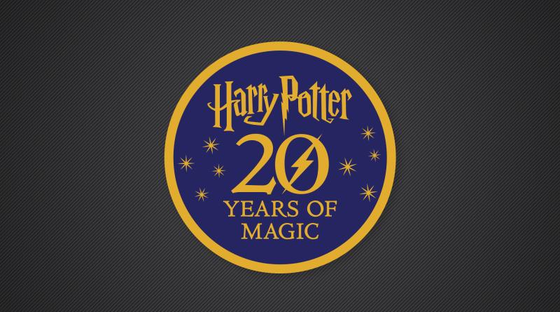 LEGO Harry Potter 20 Years Logo