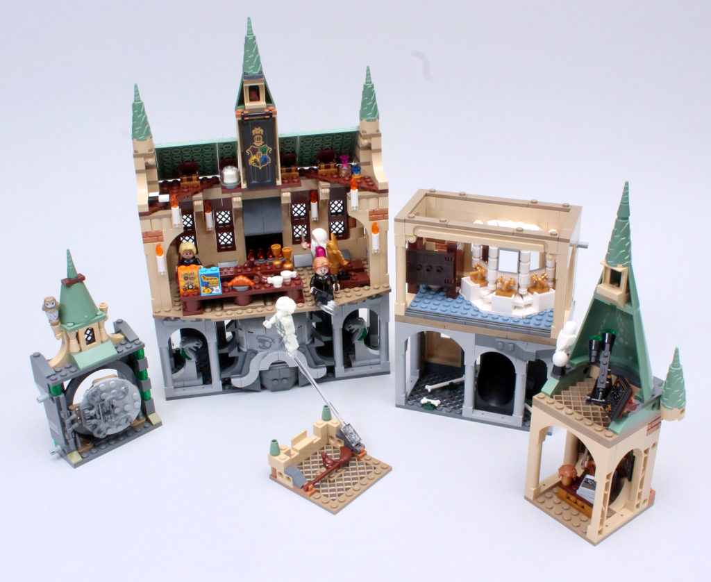 LEGO Harry Potter 20th Anniversary Hogwarts Combined 10