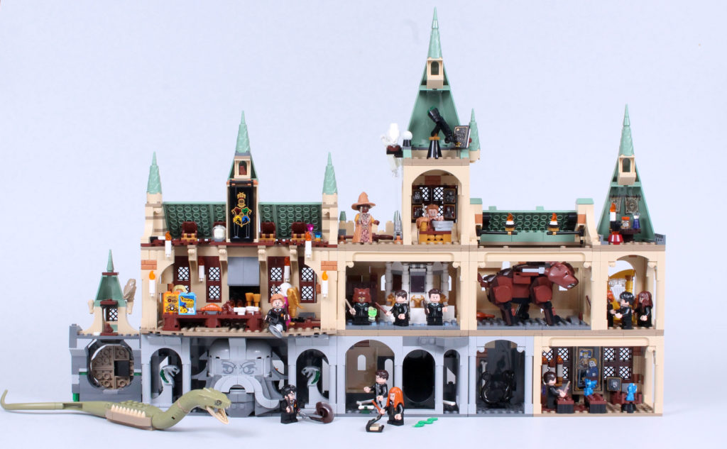 LEGO Harry Potter 20th Anniversary Hogwarts Combined 2