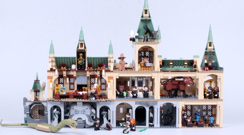 LEGO Harry Potter 20th anniversary Hogwarts combined featured