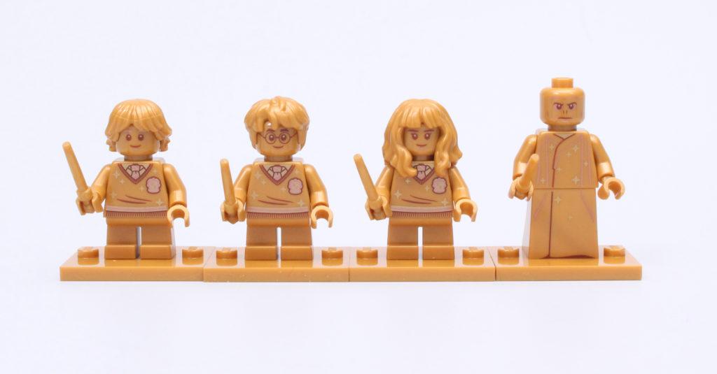 Lego ဟယ်ရီပေါ်တာ ၂၀ နှစ်မြောက်ရွှေရောင်အသေးအဖွဲနှိုင်းယှဉ်မှု ၁