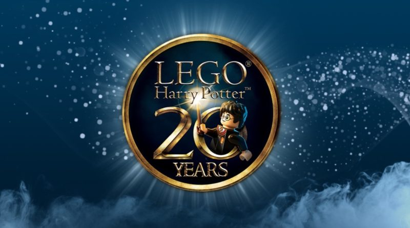 LEGO Harry Potter 20th anniversary logo featured