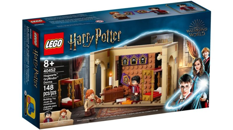 LEGO Harry Potter 40452 Gryffindor Dorms GWP featured