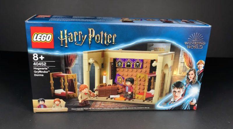 LEGO Harry Potter 40452 Hogwarts Gryffindor Dorms GWP featured