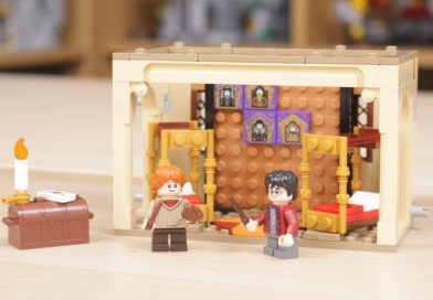 LEGO Harry Potter 40452 Hogwarts Gryffindor Dorms gift-with-purchase review