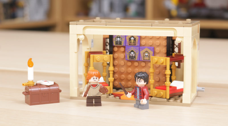 LEGO Harry Potter 40452 Hogwarts Gryffindor Dorms gift with purchase review title