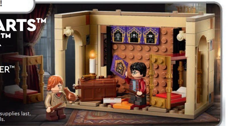 LEGO Harry Potter 40542 Gryffindor Dorms GWP calendar featured