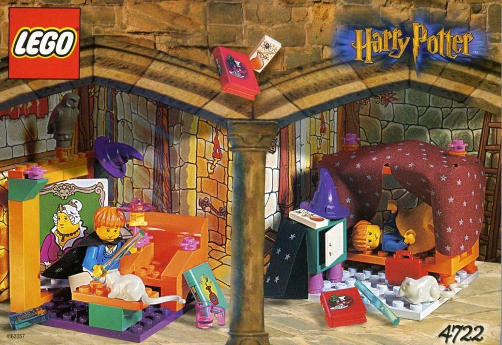 LEGO Harry Potter 4722 Sala Comune di Grifondoro