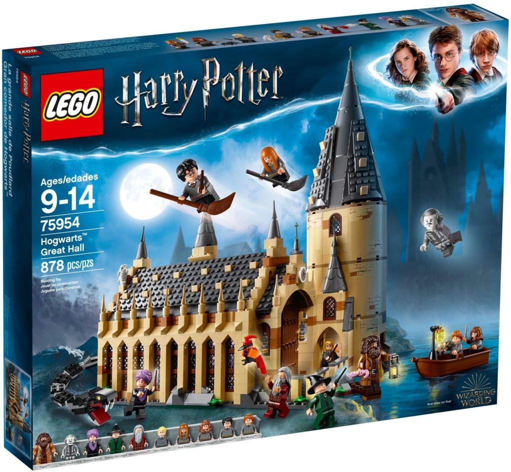 LEGO Harry Potter 75954 Hogwarts Great Hall Box
