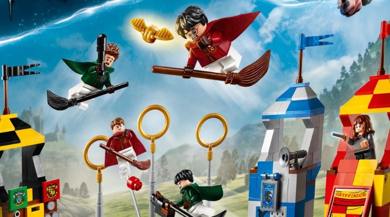LEGO Harry Potter 75956 Quidditch Match Featured