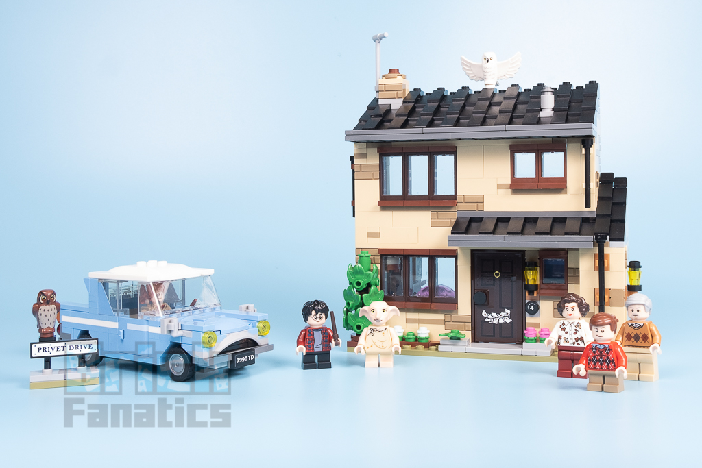 LEGO Harry Potter 75968 4 Privet Drive 6