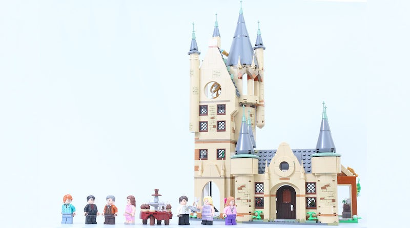 LEGO Harry Potter 75969 Hogwarts Astronomy Tower Review Title 800x445