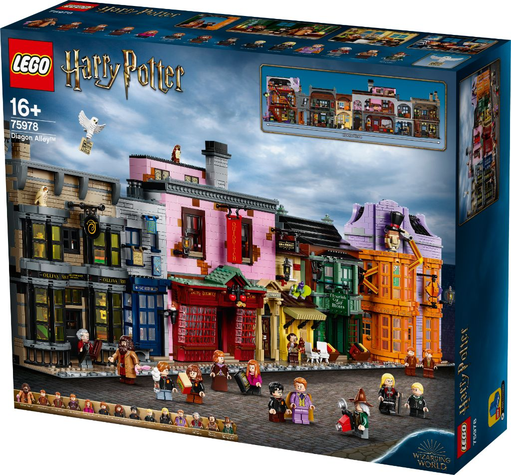 LEGO Harry Potter 75978 Diagon Alley 17
